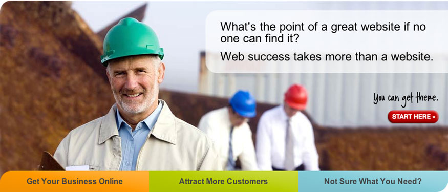 Begin your successful website here